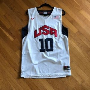 USA basketball home Jersey size M #10 Bryant